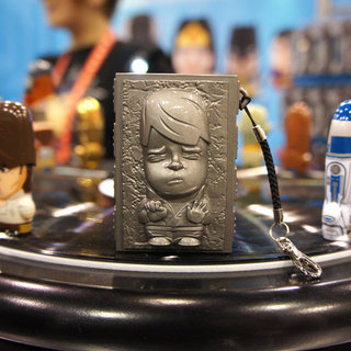 Han Solo Mimobot Flash Storage With Carbonite Carrying Case