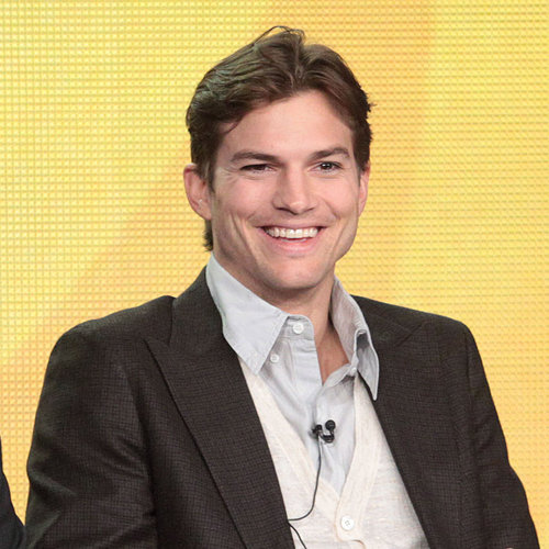 Ashton Kutcher's Haircut Is For Two and a Half Men
