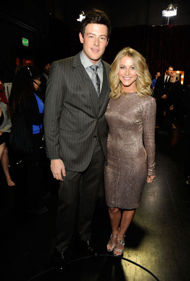Cory Monteith and Julianne Hough