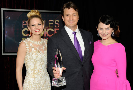 Jennifer Morrison, Nathan Fillion, and Ginnifer Goodwin