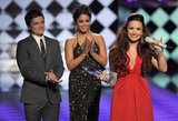 Josh Hutcherson, Vanessa Hudgens, and Demi Lovato