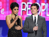 Vanessa Hudgens and Josh Hutcherson