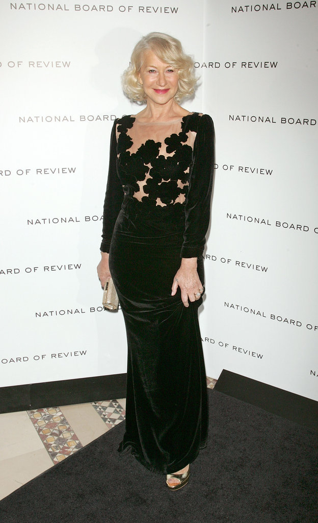Helen Mirren paused at the step-and-repeat.
