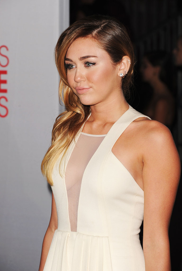 Miley Cyrus was in LA for the People's Choice Awards.