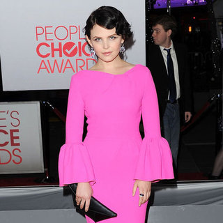 Ginnifer Goodwin Pictures People's Choice Awards Red Carpet