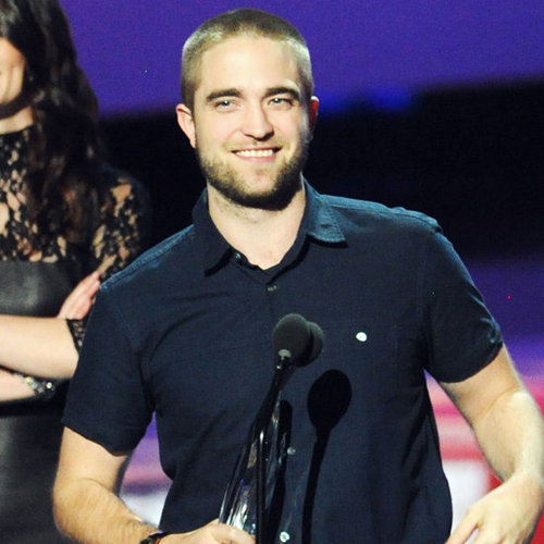 Robert Pattinson Wins People's Choice Award