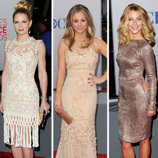 People&#039;s Choice Awards 2012 Red Carpet Dresses Pictures