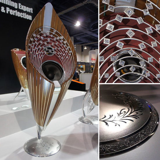 Diamond Speakers at CES 2012