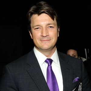 Nathan Fillion People's Choice Award Winner Castle