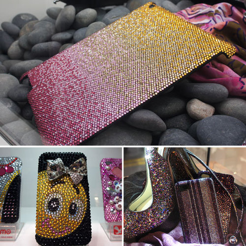 Sparkle, Glitter Phone Accessories at CES 2012