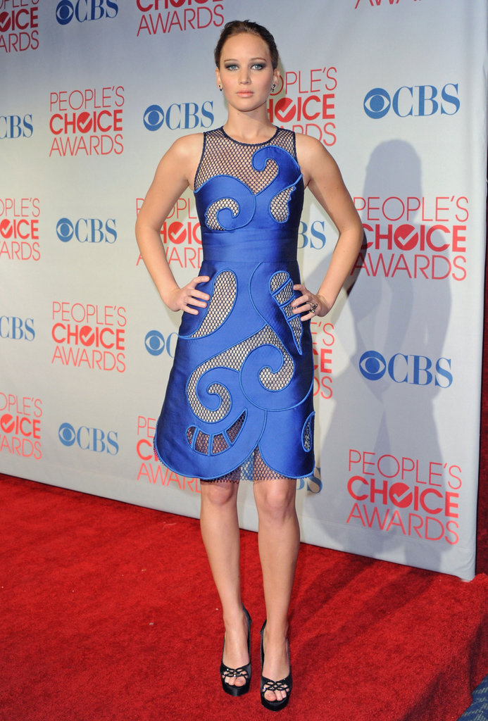 People's Choice Awards Trendspotting: Sheer Insets