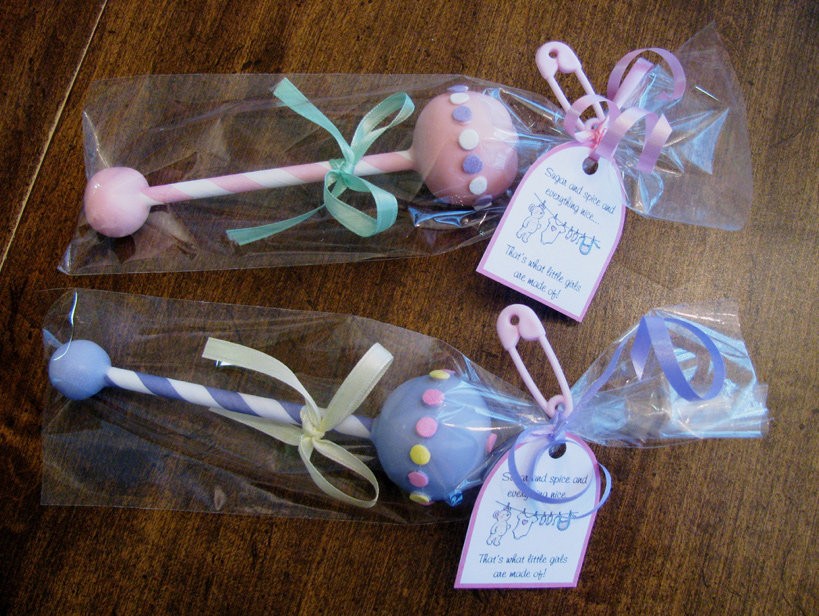 Cake Pop Ideas For Baby Shower : Baby Rattle Cake Pops Pop Star! 25 Adorable Baby Shower ...