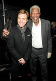 Ewan McGregor and Morgan Freeman share a cute moment at the PCAs.