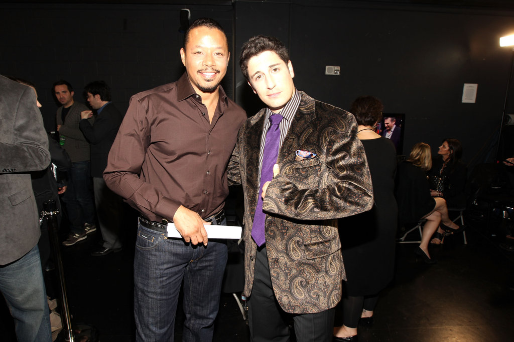 Terrence Howard and Jason Biggs goof around.