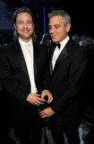 Brad Pitt and George Clooney