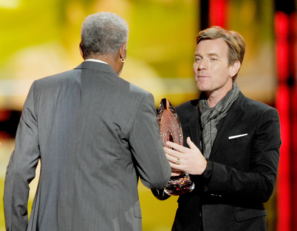 Morgan Freeman and Ewan McGregor