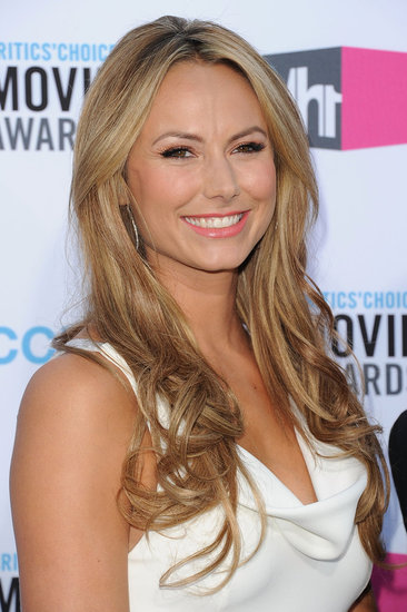 Stacy Keibler smiled at the 2012 Critics' Choice Movie Awards.