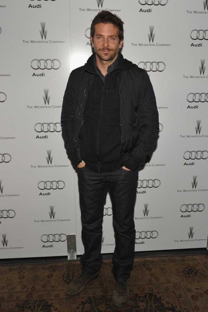 Bradley Cooper kept his hands in his pockets at the Chateau Marmont's step-and-repeat.