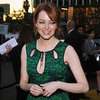 Emma Stone Green Dress Pictures Critics' Choice Awards 2012