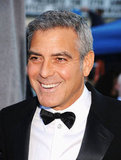 George Clooney wore a tux and a big smile to the 2012 Critics' Choice Movie Awards.