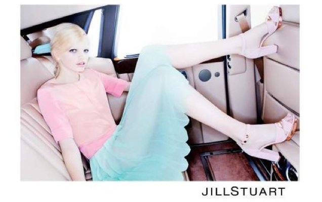Look out for Jill Stuart's dainty details like scalloped hems and sweet lace trim. Source: Fashion Gone Rogue