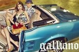 Sunny floral prints take over Galliano's Spring '12 campaign. Source: Fashion Gone Rogue