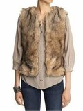 Layer up your basics with this warm coyote faux-fur vest. BB Dakota Garret Coyote Faux Fur Vest ($68, originally $90)