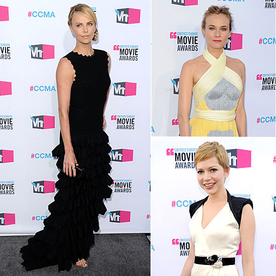 Critics' Choice Celebrity Dresses 2012