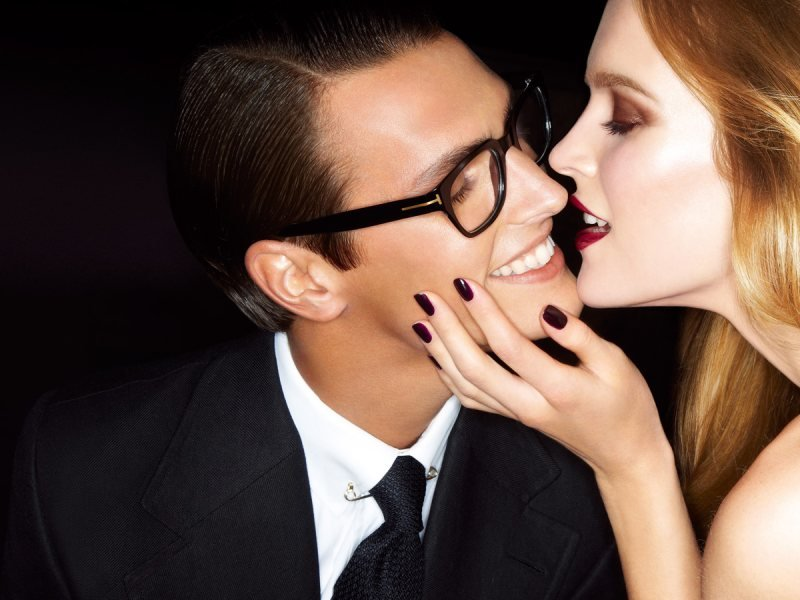 The look of love in Tom Ford's newest ad campaign. Source: Fashion Gone Rogue