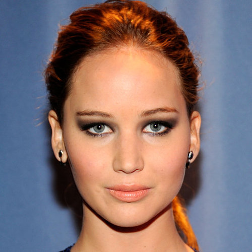 Jennifer Lawrence's Beauty Look at the 2012 People's Choice Awards