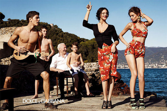 Dolce &amp; Gabbana Spring 2012 Ad Campaign