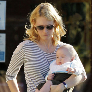 January Jones Pictures With Xander in LA