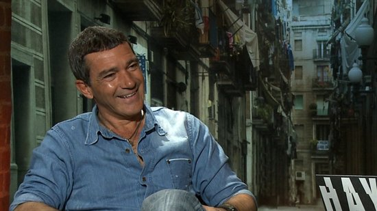 Antonio Banderas Is Just Having Fun Playing Roles From the Bad Guy to Puss in Boots