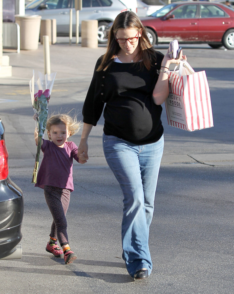 Jennifer Garner and Seraphina Affleck got a lot accomplished on a day in LA.