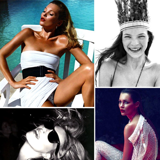 Happy 38th Birthday Kate Moss! Here's a Look at her Top 100 Magazine Editorials