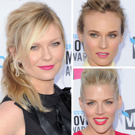 2012 Critics' Choice Awards Beauty Trend: Bold Lipstick