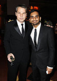 Shepard Fairey and Aziz Ansari