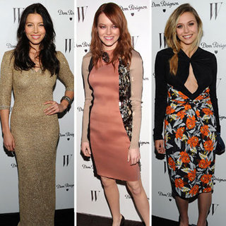 W Magazine Party Pictures: Miranda Kerr, Emma Stone, Jessica Biel, Elizabeth Olsen and More
