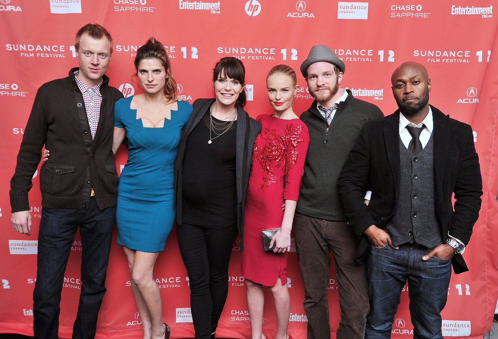 Jay Paulson, Lake Bell, Katie Aselton, Kate Bosworth, Will Bouvier and Anslem Richardson were out for Sundance.