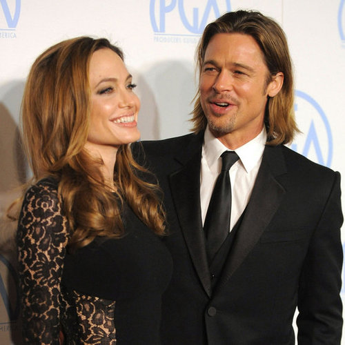 Angelina Jolie and Brad Pitt at Producers Guild Awards