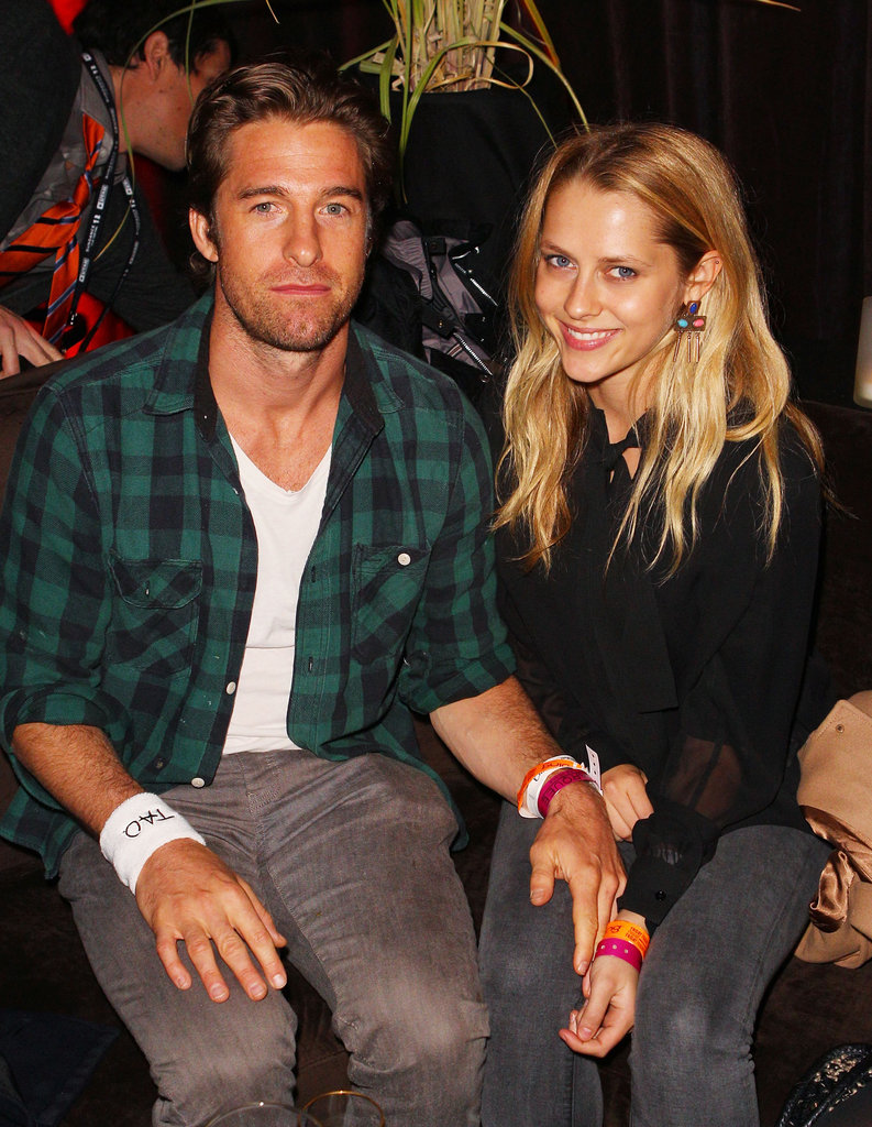 Scott Speedman and Teresa Palmer
