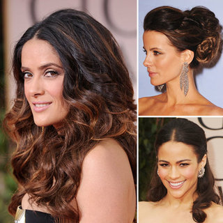 Celebrity Hair Tips and Tutorials from the 2012 Golden Globes Red Carpet