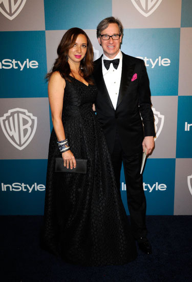 Maya Rudolph and Paul Feig
