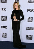 Jessica Lange posed at the Fox afterparty.