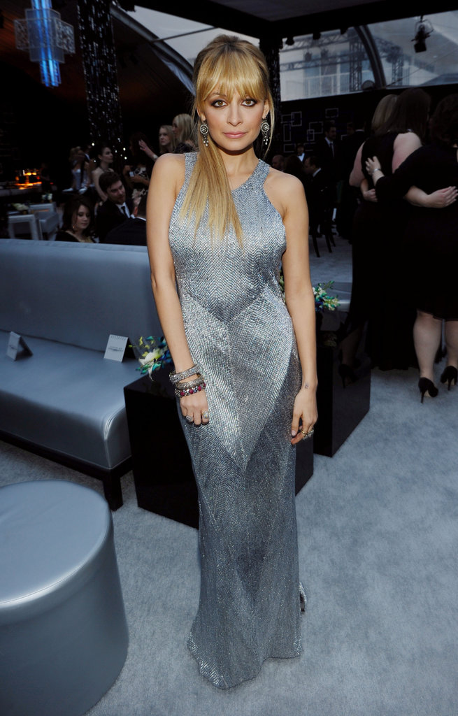 Fashion Star leading lady Nicole Richie partied after the Golden Globes.