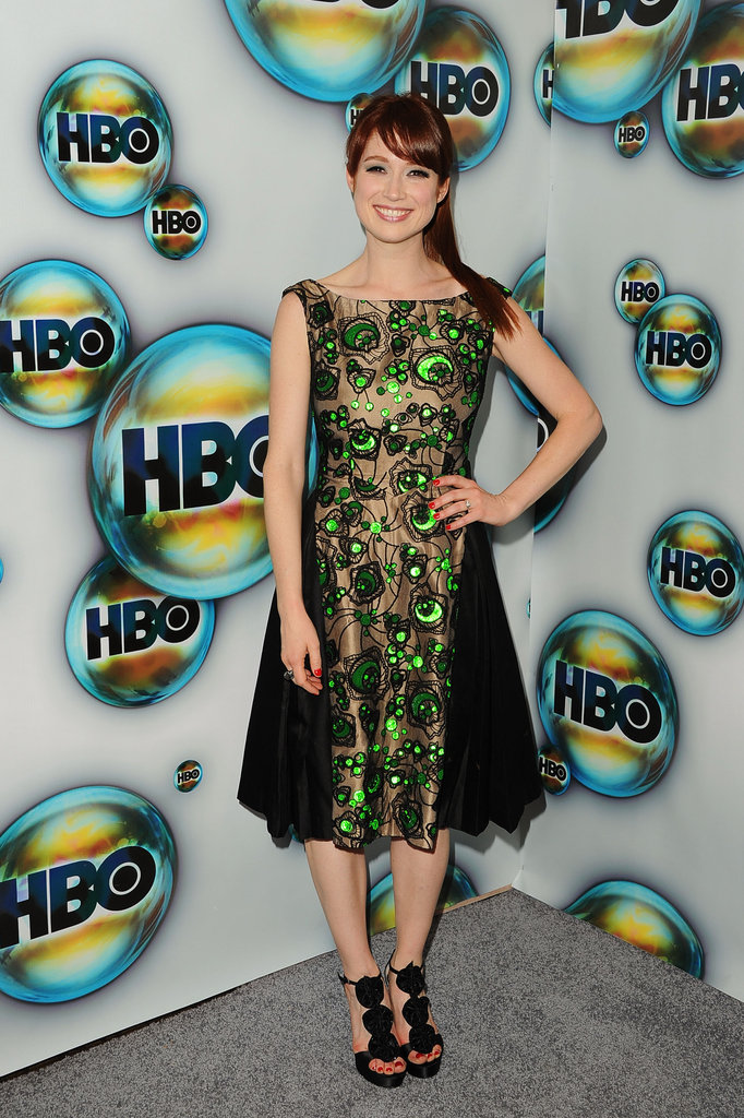 Ellie Kemper stepped out for the HBO bash.