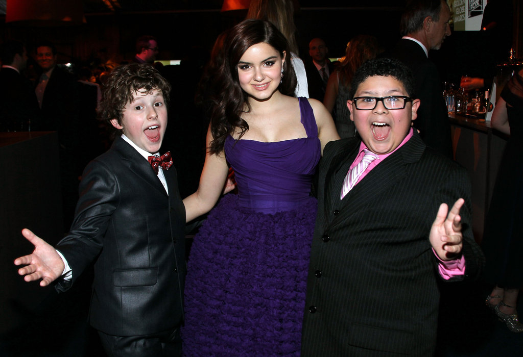Modern Family's Ariel Winter, Rico Rodriguez, and Nolan Gould partied at the Fox bash.