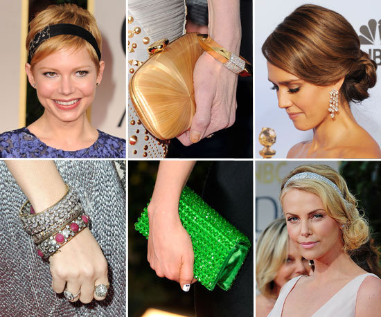 2012 Golden Globes: The Accessory Trend Report