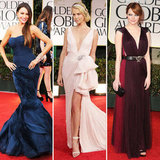 The Top Trends From the Golden Globes — Crimson Hues, Nude Tones, Flirty Fishtails, and More