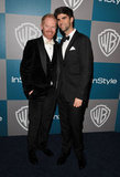 Jesse Tyler Ferguson and Justin Mikita go head to head at the WB/ InStyle party.